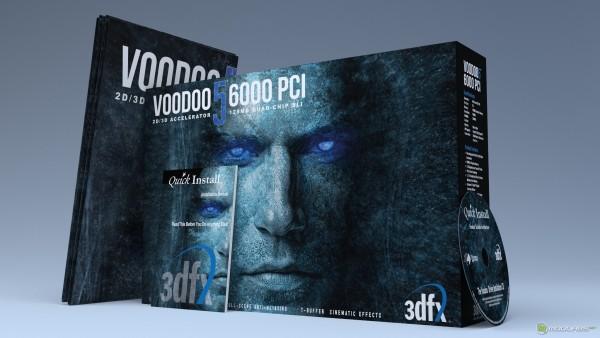 Voodoo 56000 PCI box (коробка), Drivers, manual, poster