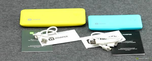 Harper PB-6001 и PB-10001