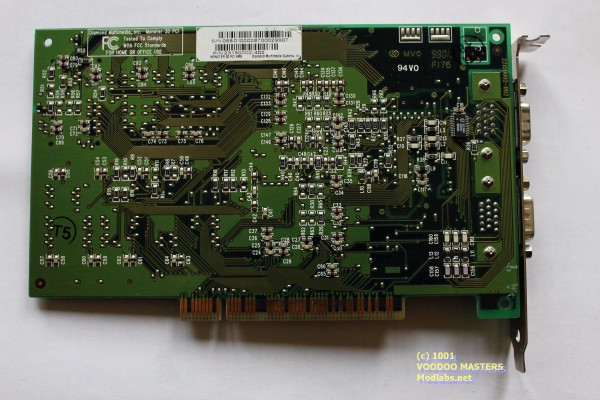 DIAMOND MONSTER 3D Rev.E 4MB - 9801 - 22150002-002