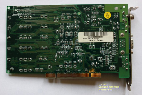 miroHISCORE 3D miroMEDIACanopus Corp. 6MB - Made in USATaiwan - 9813 - 400-00009-102