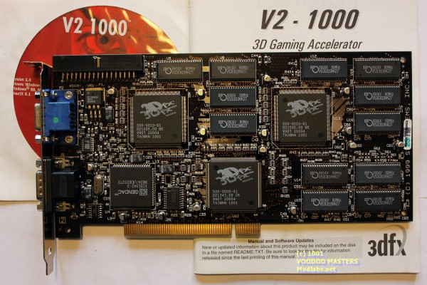 V2 1000 12MB 90MHz - Product of Mexico - 99xx - 210-0336-00x