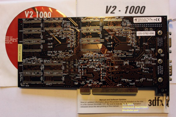 V2 1000 12MB 90MHz - Product of Taiwan - 9944 - 210-0336-00x1x0-0782-006120-0782-006