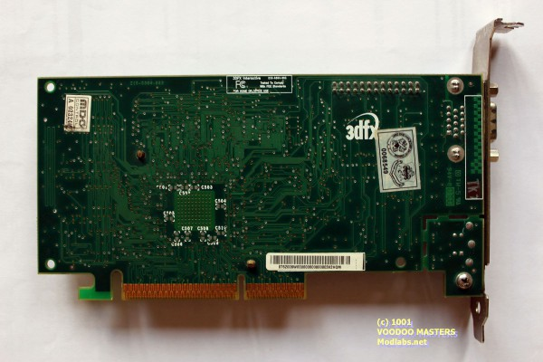STB 3dfx Voodoo3 3000 REV C 16MB SDRAM 6ns 166MHz AGP - Product of Mexico - 0700 - 210-0364-003