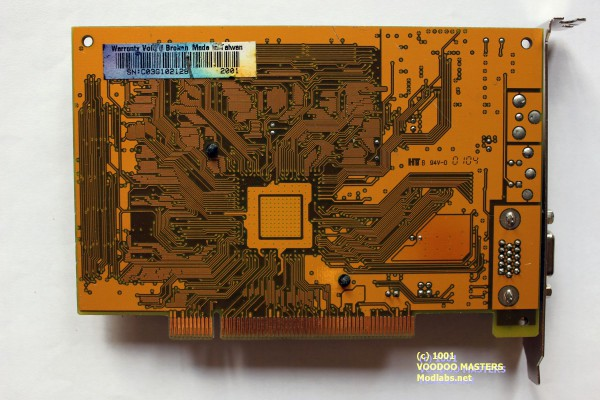 PowerColor evilKING 3 Pro C355 VER:2.0 16MB SDRAM 5.5ns 166MHz PCI - Made in Taiwan - 0104