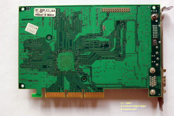 """STB 3dfx Voodoo4 4500 VSA-100 166MHz 32Mb SDRAM 6ns """"Toshiba"""" AGP AAVID cooler - Product of Mexico - 3300 - 210-0416-001-A0"""