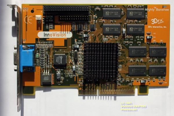 InnoVISION Mighty Banshee 16MB SDRAM AGP - 9931 - 600-0035-03