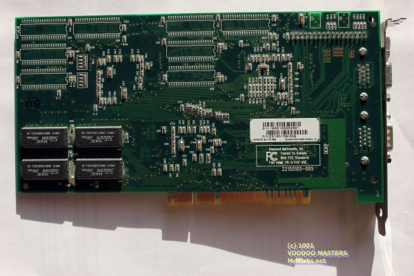 DIAMOND MONSTER 3D II 8MB Rev B 100MHz - 9812