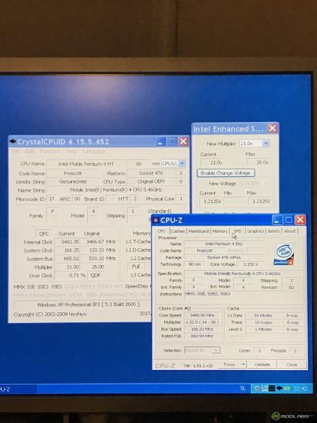 Mobile Intel Pentium 4 552 на Soltek SL-XP865G-3IG