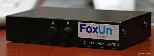 Переключатель видеовыходов FoxUn