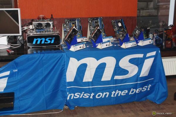 Различное железо MSI