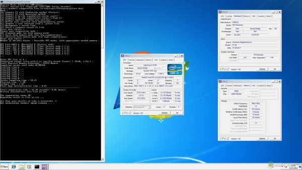 PiFast на Core i3-2100 (Sandy Bridge)