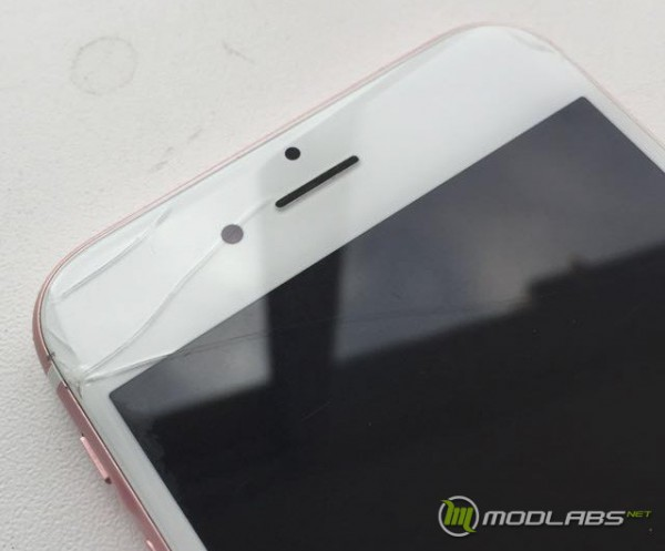 Разбитый iPhone 6S