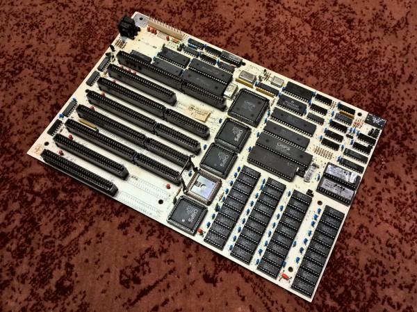 Linso (Lingo/Limco) PC-286-1 - белая материнская плата для 80286