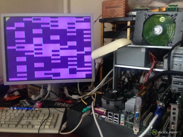 Проблемы с работой Voodoo graphocs на Portwell RUBY-9719VG2AR