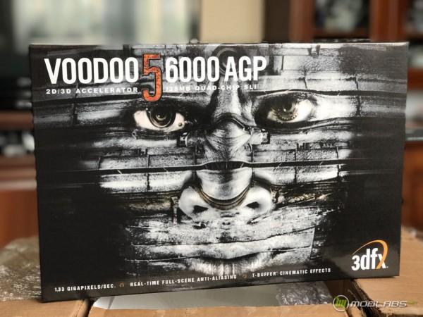 3dfx Voodoo 5 6000 retail box replica