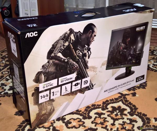 AOC G2460PG, коробка