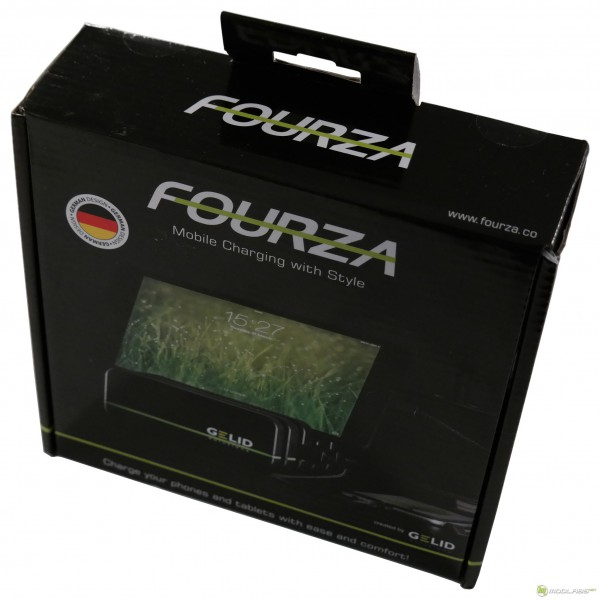 Gelid FOURZA, коробка, вид спереди