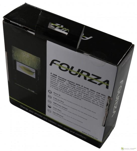 Gelid FOURZA, коробка, вид сзади