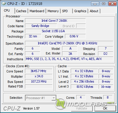 Обзор Sapphire Pure Black P67 Hydra - разгон процессора по шине до 107.2 МГц