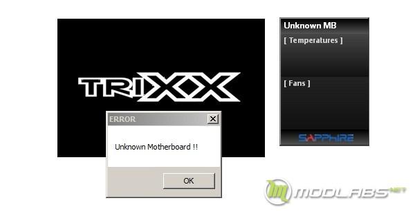 TRIXX и гаджет не работают в новой версии BIOS