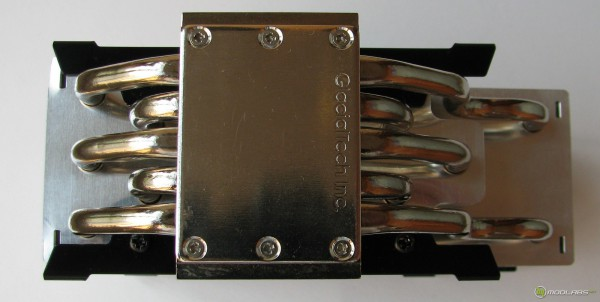 Обзор GlacialTech F101, вид кулера GlacialTech F101 снизу