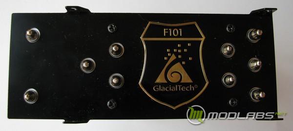 Обзор GlacialTech F101, вид кулера GlacialTech F101 сверху