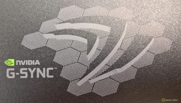 AOC G2460PG, логотип G-SYNC