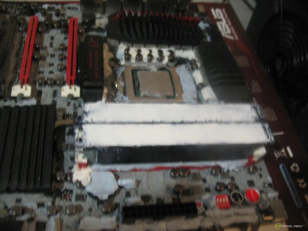 Heatsinks installed