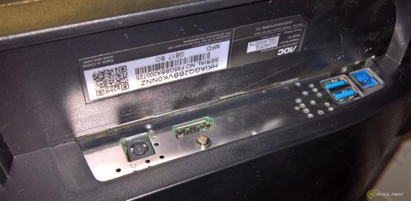 AOC G2460PG, интерфейсы