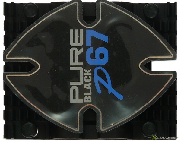 Верх радиатора чипсета P67