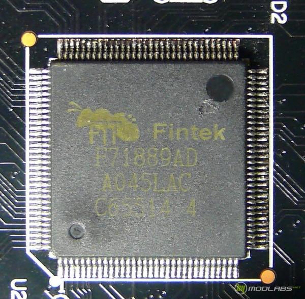 Обзор Sapphire Pure Black P67 Hydra - Fintek F71889AD - комбо-порт PS2, мониторинг напряжений и управление вентиляторами