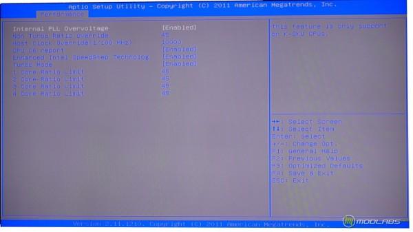 Обзор Sapphire Pure Black P67 Hydra - настройка разгона процессора в BIOS материнской платы. Теперь есть PLL Overvoltage