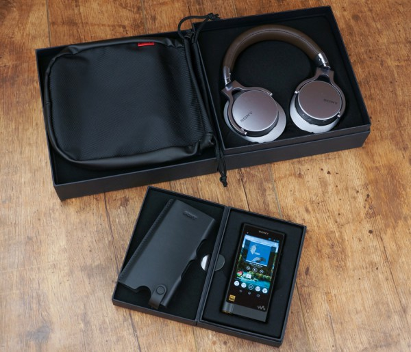 Sony MDR-1A и SONY WALKMAN ZX-2