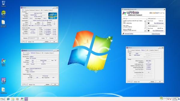 WPrime 32M и WPrime 1024M на Core i3-2100 (Sandy Bridge)