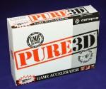 Коробка от 3D ускорителя Canopus Pure3D - лицевая сторона