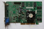 "STB 3dfx Voodoo4 4500 VSA-100 166MHz 32Mb SDRAM 6ns ""Toshiba"" AGP AAVID cooler - Product of Mexico - 3300 - 210-0416-001-A0"
