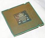 Процессор intel celeron e1200 вид снизу