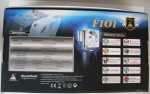 Обзор GlacialTech F101, коробка кулера GlacialTech F101 вид сзади