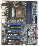Обзор Sapphire Pure Black P67 Hydra - материнская плата, Вид сверху, основной