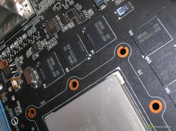 чипы памяти GTX580