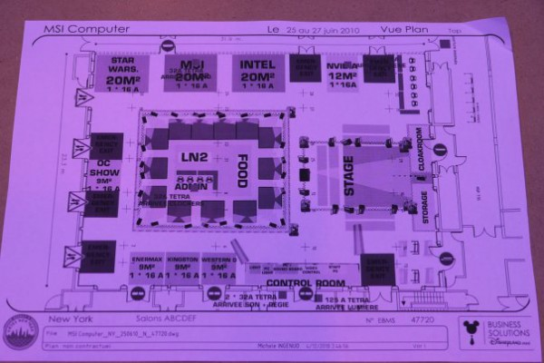 plan of MOA 2010 stends