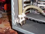 Корпус InWin X710 прорезан для установки системы охлаждения