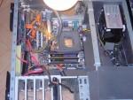 Подготовка тестового стенда внутри корпуса InWin X710