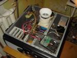 Собранная в корпусе InWin X710 система со стаканом для жидкого азота на CPU