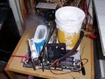 Открытый тестовый стенд. Жидкий азот на видеокарте и процессоре