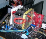 Разгон Kingmax Nano TDT с радиаторами на воздухе
