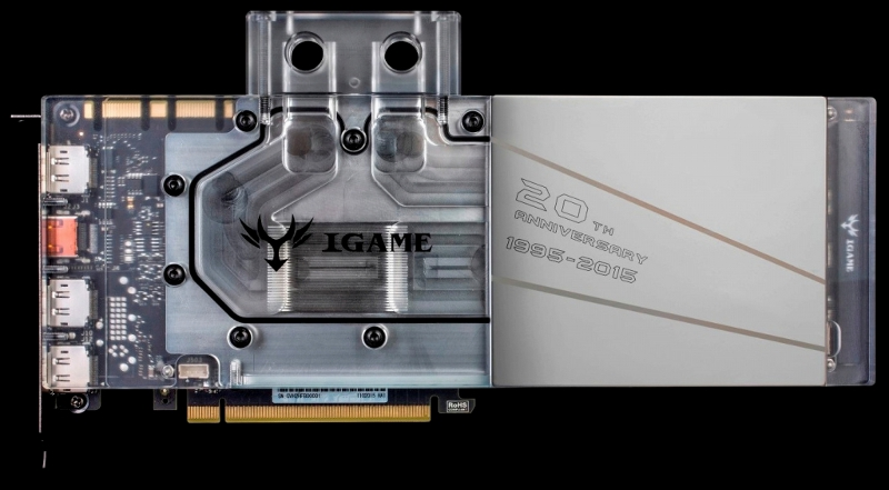 Colorful IGame980Ti Ice Knight Liquid-6GD5