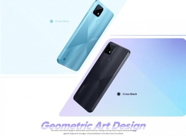 Дизайн и характеристики смартфона Realme C21 появились в Сети накануне анонса 5 марта