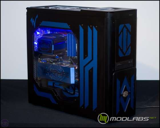 моддинг, проект, ATCS 840 Blue Power