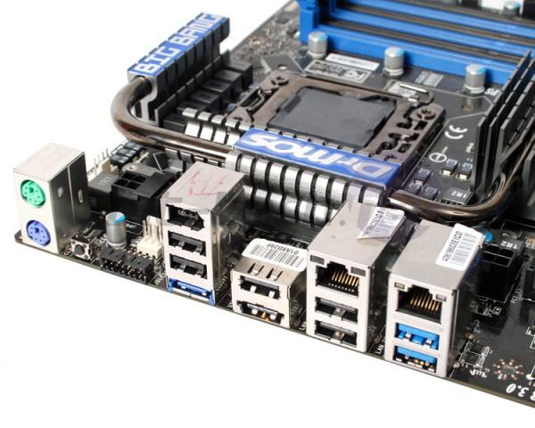 задняя панель MSI XPower X58